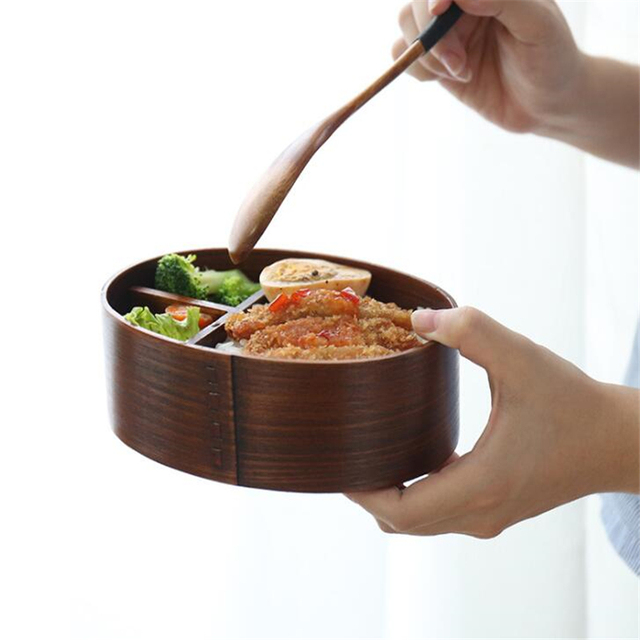 Divided Portable Picnic Food Container