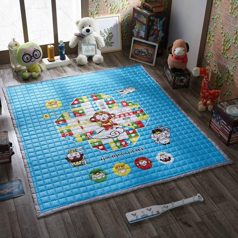 Mignon extérieur enfant tapis enfants jouer jeu tapis enfant jeu tapis en plein air bébé ramper tapis épaissir tapis bébé ramper tapete