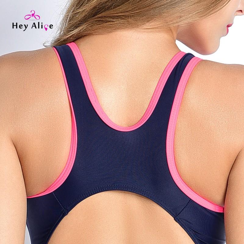 Sport Monokini Swimsuits Backless Women Swimsuit Professional Swimwear Sports Pool Training Body Suit One Piece Swimsuit 7