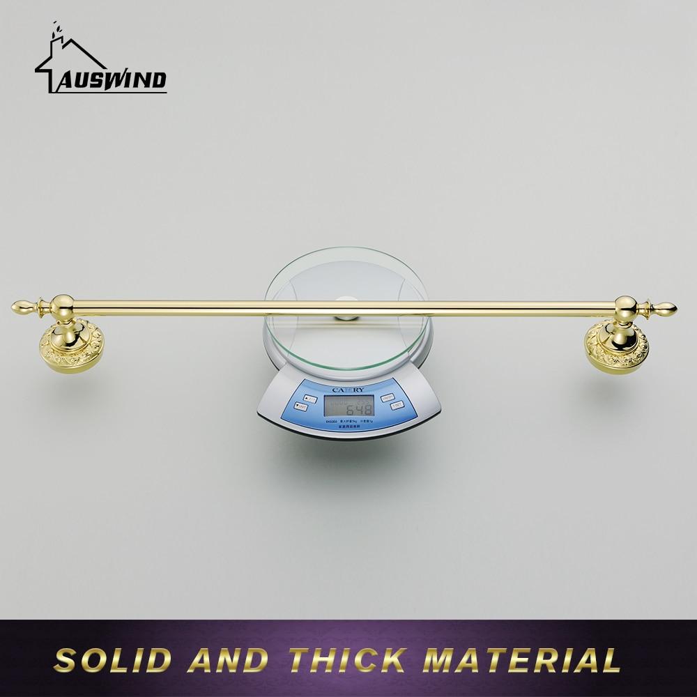 European Gold Towel Rack Hanging Antique Towel Racks Solid Brass ...