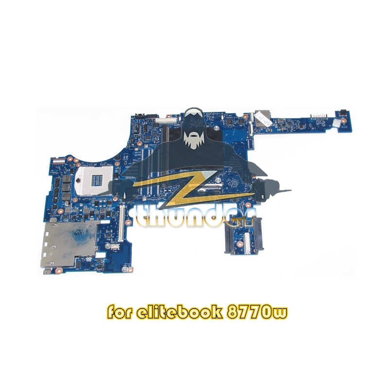 688745-001 688745-601 for HP Elitebook 8770W laptop motherboard DDR3 SLJ8A with graphics slot цены онлайн