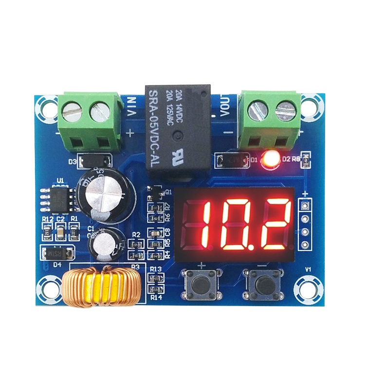 XH-M609 DC 12V-36V Charger Module Voltage OverDischarge Battery Protection Precise Undervoltage Protection Module Board