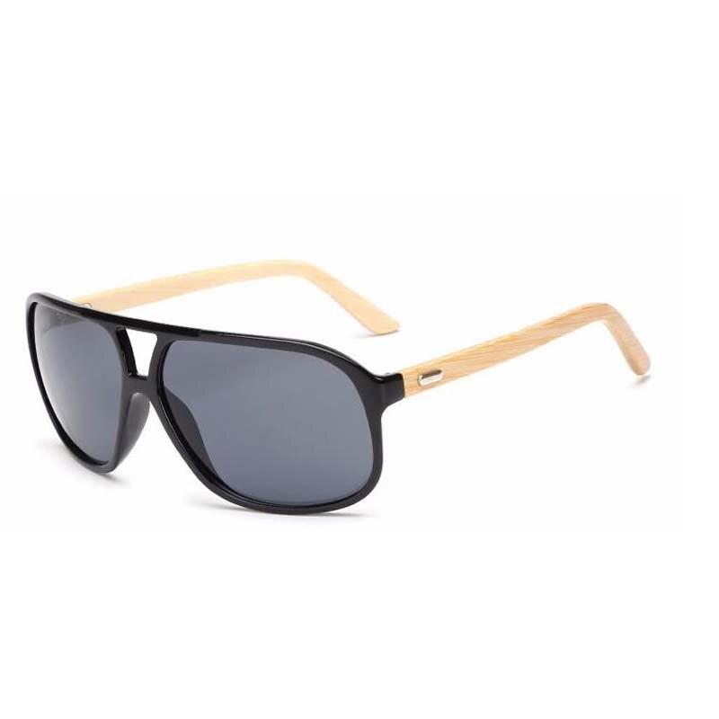 módní nadměrné bambusové brýle pánské ženy značkové - Příslušenství pro oděvy - Fotografie 4