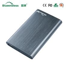 Blueendless NEW Product External Hard Drive 1tb hdd 2 5 sata Hard disk 1TB High Speed HDD 2 5 Desktop Laptop Mobile Hard Drive tanie tanio Zewnętrznych Godzin 4200rpm ZŁĄCZE USB 3 0 Metal tworzywo sztuczne T6-8 2 5 w 2014 6 GB s Pulpit laptop Stock Niekończące się