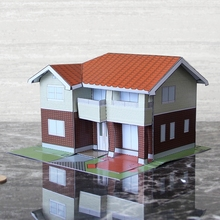 Buy paper house model and get free shipping on AliExpress com