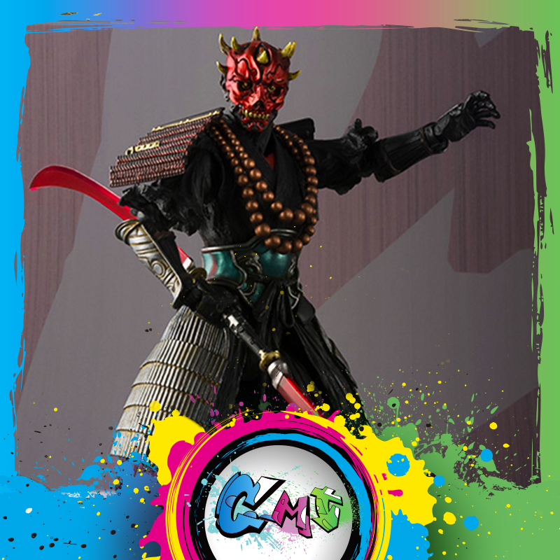 Le CMT INSTOCK BANDAI Tamashi Nations Original Star Wars film realisation MMR S. H. Figuarts SHF Sohei dark Maul figurine jouetsLe CMT INSTOCK BANDAI Tamashi Nations Original Star Wars film realisation MMR S. H. Figuarts SHF Sohei dark Maul figurine jouets