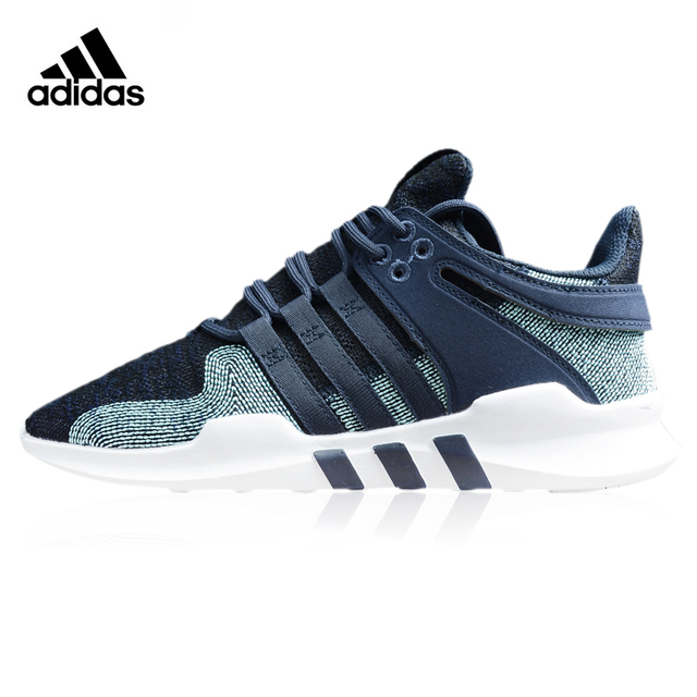 best authentic c88f7 30415 ... czech adidas eqt support adv ck parley mens running shoes dark blue  breathable wear 3b6ab 02588