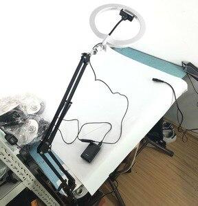"""Image 5 - Estúdio de fotos 10 """"200 pces led 2color3200k 5600k pode ser escurecido fotografia telefone vídeo led anel luz lâmpada com tripé suporte para câmera"""