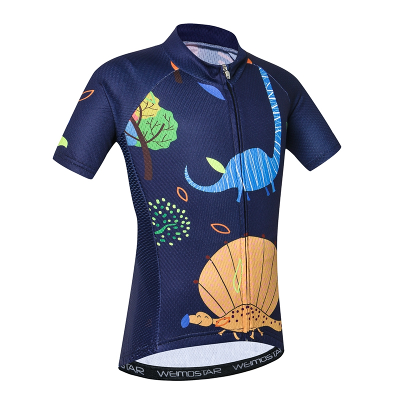 373cb477e Breathable Quick Dry Kids Cycling Jersey Tops Short Sleeve Children Bike  Clothing Boys Girls Bicycle Shirts Wear Ropa Ciclismo-in Cycling Jerseys  from ...