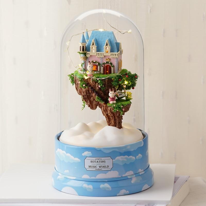 Casa de Muñecas Kit de Muebles Diy Miniatura Cubierta de Polvo 3D - Muñecas y accesorios - foto 2