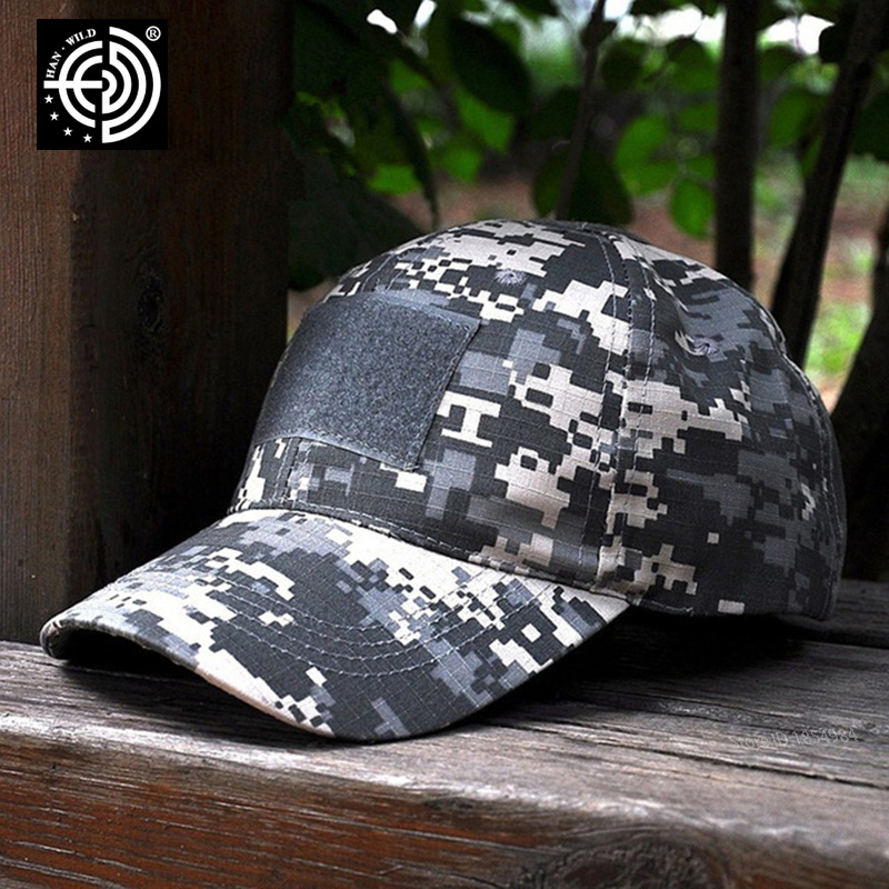 11Style Snapback Camouflage Tactical Hat Patch Army Tactical Baseball Cap Patches Unisex ACU CP Desert Cobra Camo Hats For Men