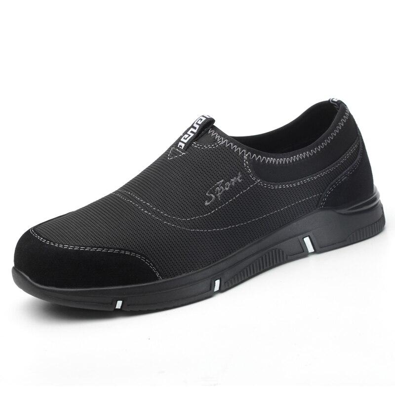Canteiro Segurança Trabalhador Botas Biqueira Mens on Obras Moda Size Aço Calçados Respirável Plus De Slip Trabalho Masculino Sapato xFqHZ8