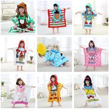 Банные халаты для маленьких девочек с героями мультфильма «Алиса»; 9 стилей; банный халат с изображением животных; Детские банные костюмы; сезон весна-осень; ночная рубашка с капюшоном с изображением животных