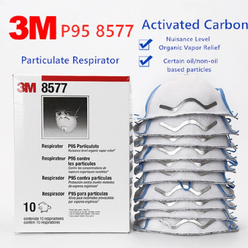 Orderly 10pcs 3m P95 8577 Gas Masks Organic Vapor Odor Particulate Anti Formaldehyde Second-hand Smoke Pm 2.5 Exhaust Dust Respirator Professional Design Back To Search Resultssecurity & Protection