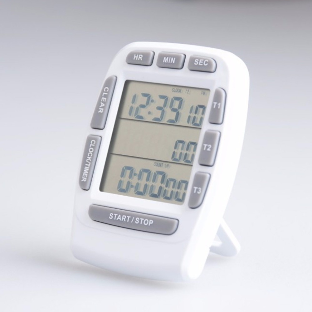 Touch Screen Kitchen Timer Magnetic Timer LCD Screen Kitchen Timer ...
