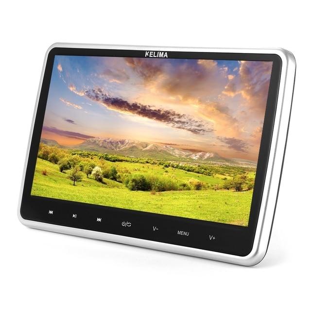 KELIMA 10.1 дюймов Автомобиля Видео Плеер MP4 MP5 Плеер Автомобиля DVD плеер С Сенсорным Экраном Поддержка 32 Бит Игры с FM ИК-Пульт Дистанционного управления