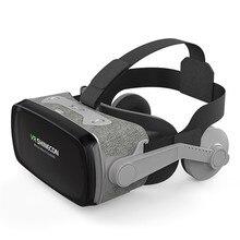 SC-G07E fone de ouvido do telefone móvel teatro jogo capacete vr óculos de realidade Virtual 3d óculos