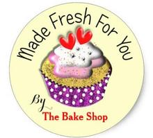 1.5inch Made Fresh For You Bakers Customer Product Labels Classic Round Sticker