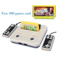 High Quality TV Game Player Retro Classics Games 400 Games Play Card Original Card Two Card