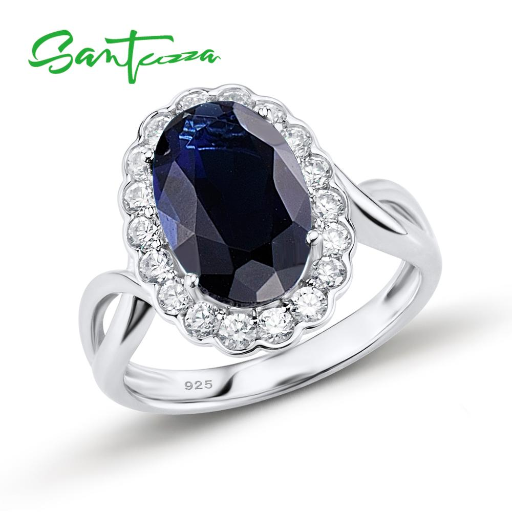 for rings with town women vintage wedding large ring blue size stone of cape carats