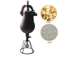 hand operation popcorn maker,manual Maize Popping Machine,Chinese style Rice Puffed Machine,grain/beans puffed machine