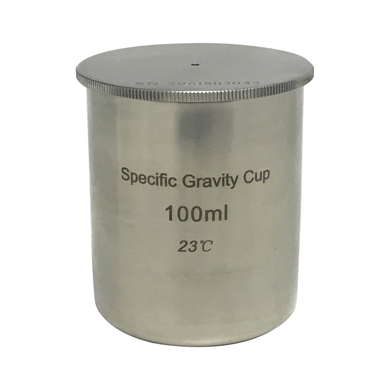 BGD296/5 Stainless Steel Density Cup (100cc/ml) Specific Gravity Cup