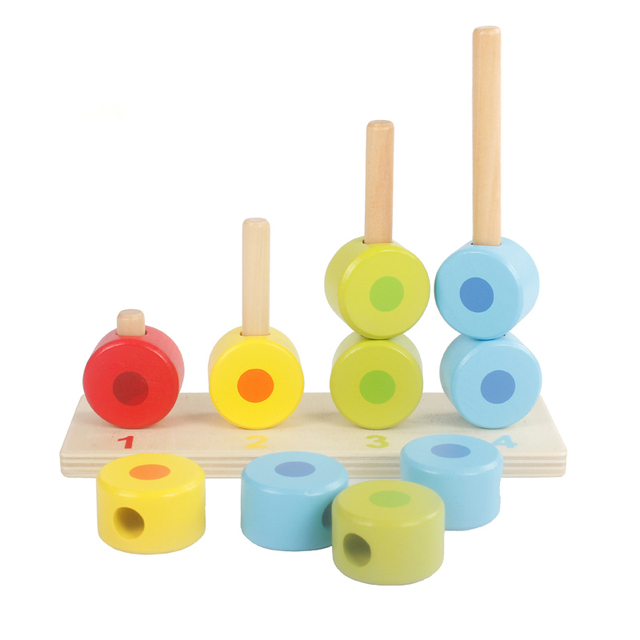 Multicolor Building Blocks for Kids