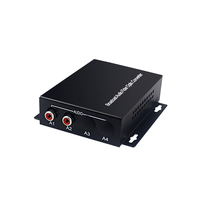 Image 4 - 2 channel audio optical converter Audio Broadcast Fiber Transceiver  for Audio intercom broadcast system (Tx/Rx) 1 set-in Fiber Optic Equipments from Cellphones & Telecommunications