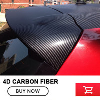wholesale 30m*1.52m 4D Vinyl Car Wrap Carbon Fiber Film Sticker Waterproof DIY Car Styling For Interior Exterior Accessories