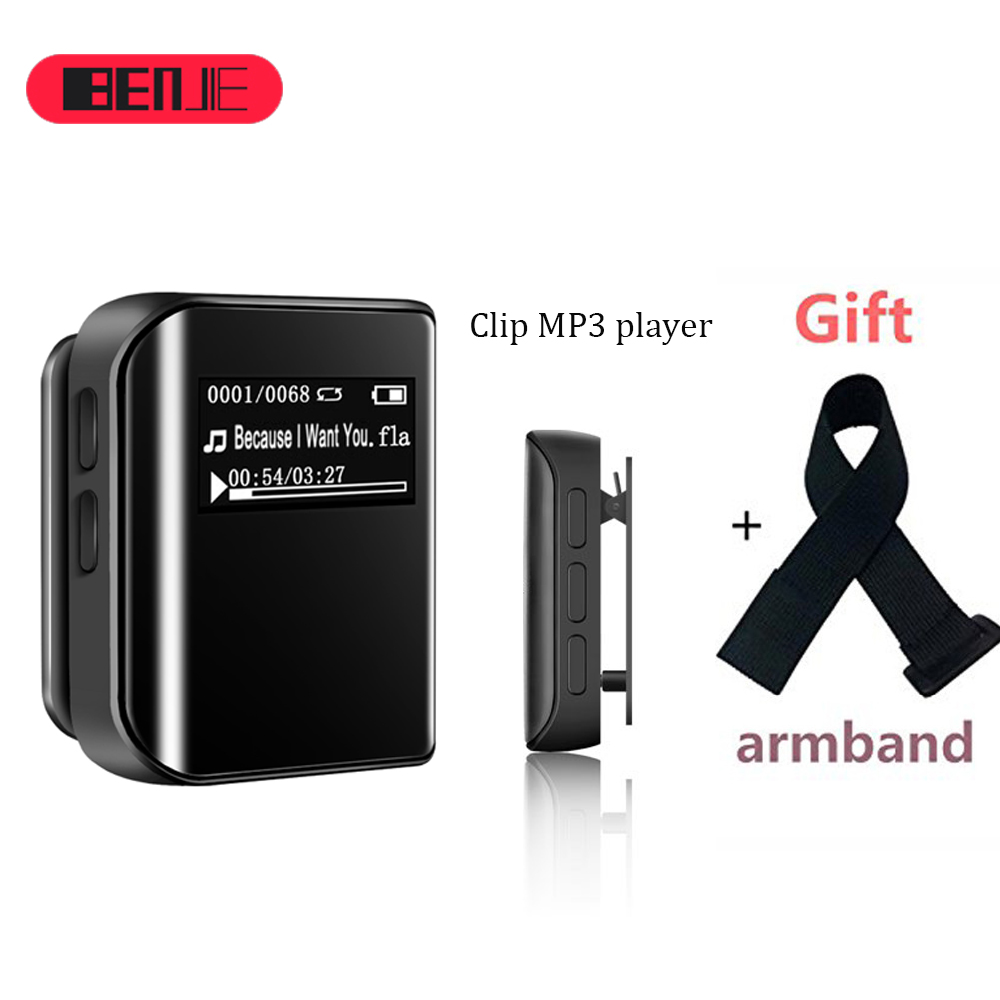 цена на BENJIE K10 Mini 8GB MP3 Player Clip Sport MP3 Radio FM Player MP3 Music player Metal MP3 WMA APE FLAC Music Player