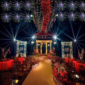 Image 3 - VNL guirlande lumineuse explosive en fil de cuivre, luminaire suspendu avec télécommande, guirlande féerique, pour chambre à coucher, jardin, mariage