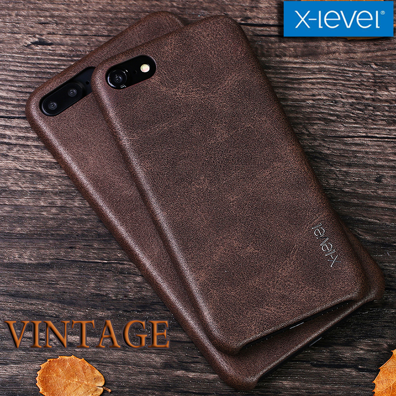 X-level Capa for iPhone X 8 7 6s 6 Case Vintage Retro Cowboy PU Leather Phone Bag Back Cover for iPhone X 8 7 6s 6 Plus Shell