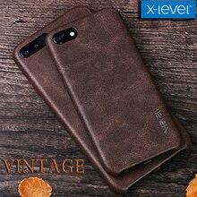 X-level Capa для iPhone X 8 7 6s 6 Чехол Винтаж Ретро ковбой чехол для телефона из искуственной кожи задняя крышка для iPhone X 8 7 6s 6 Plus в виде ракушки