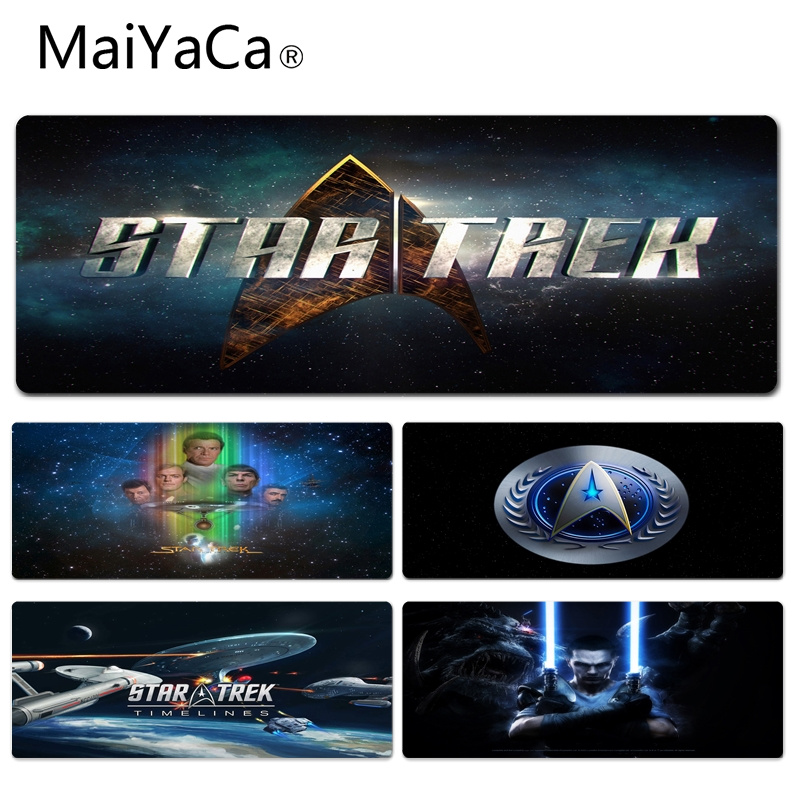 MaiYaCa  StarTrek Tv Serie Keyboard Gaming MousePads Size For 30x90x0.2cm Gaming Mousepads