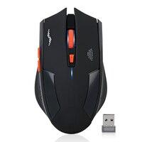 Imice נטענת עכבר אלחוטי 2400 DPI עכבר משחקי USB 2.4 גרם שתיקה Built-In סוללת ליתיום למחשב נייד למחשב גיימר