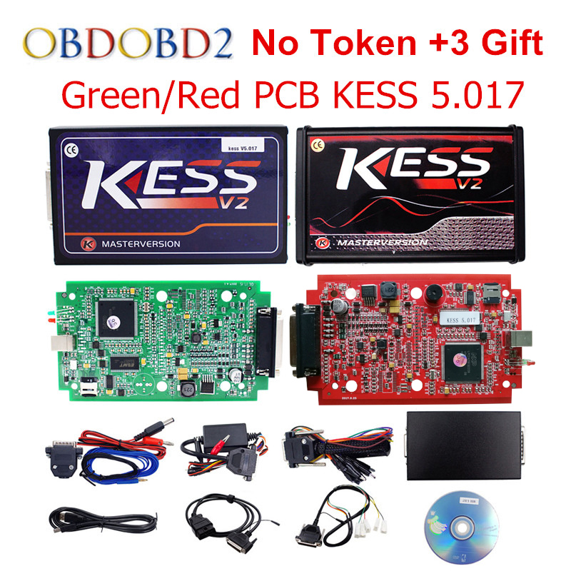 Master Online EU Red KESS V5.017 KESS V2 5.017 No Token KTAG V7.020 OBD2 Manager Tuning Kit K-TAG 7.020 V2.23 ECU Programmer 2017 newest ktag v2 13 firmware v6 070 ecu multi languages programming tool ktag master version no tokens limited free shipping