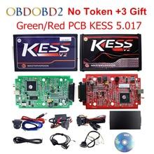 HW V5.017 KESS 5.017 OBD2 Gerente Sintonía Kit KESS 2 V2.23 utilizado En Línea Maestro KTAG KESS V7.020 Mejor Que V4.036 Para Camión coches
