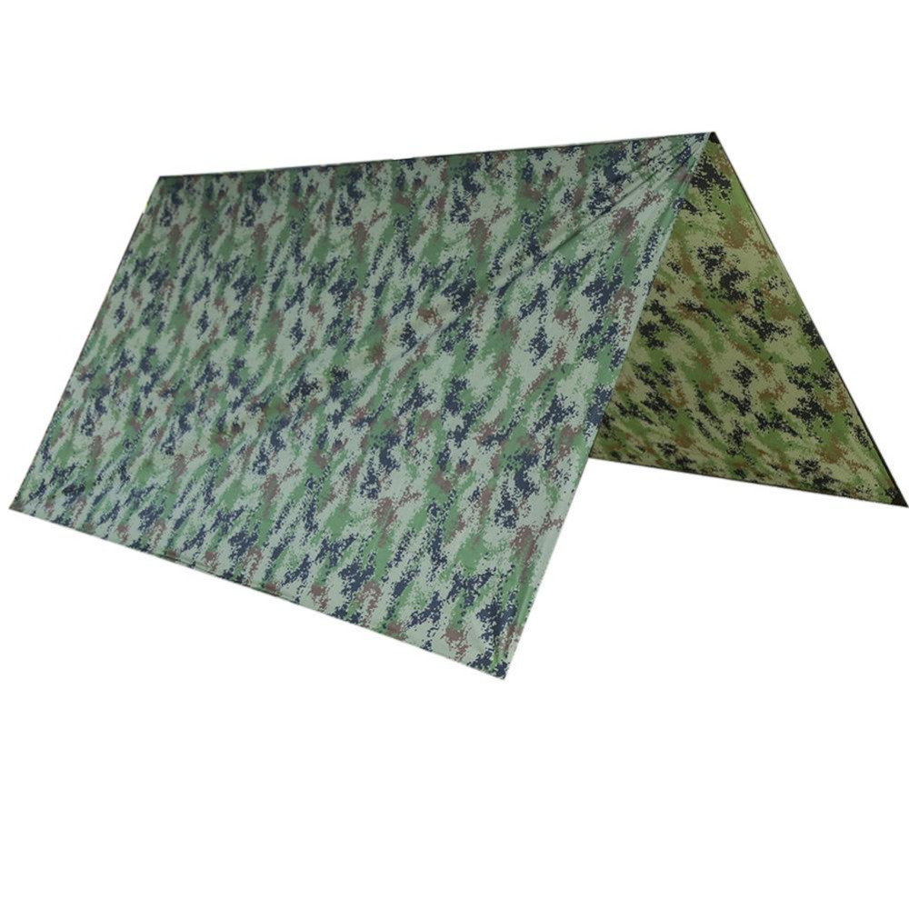 Camouflage Ultralight Sun Shelter Anti Ultraviolet Radiation Beach Tent Waterproof Awning Tent Camping Sunshelter 100*145cm