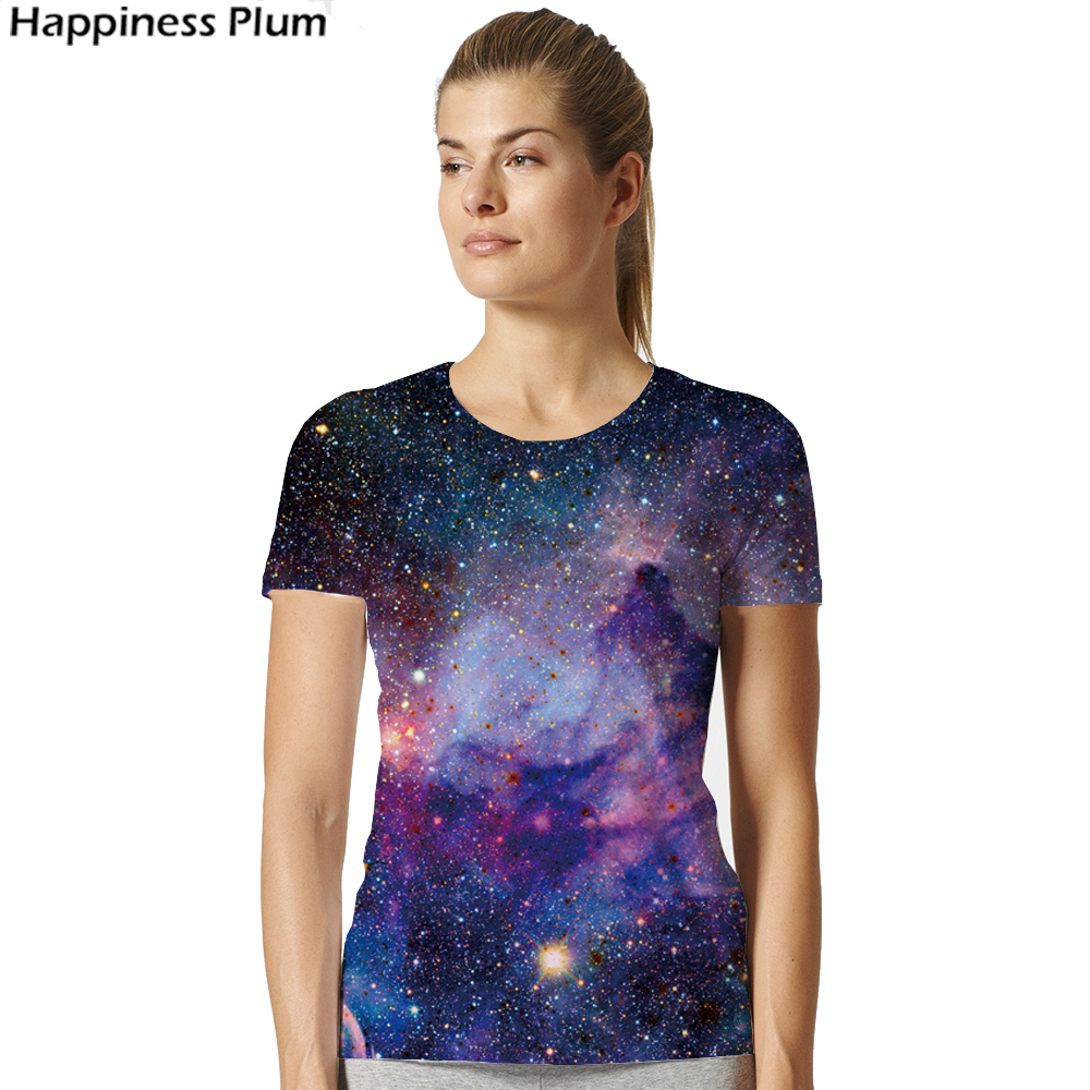 Galaxy Shirt Space Universe 3d Print Tshirt Women Hort Sleeves Womens Brand Clothing Hip Hop Top Tees Summer Cool Hiphop Clothes