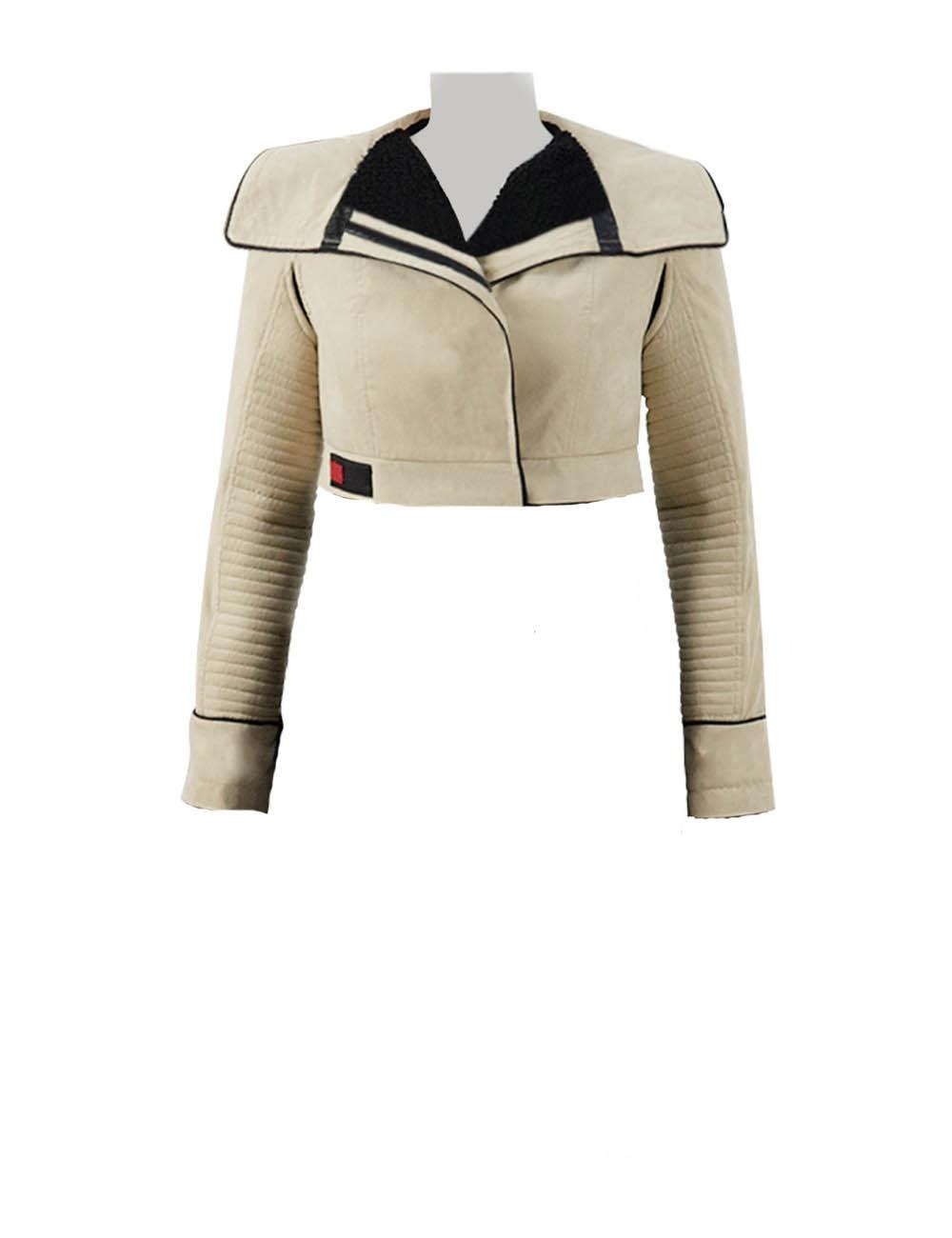 Solo A Star Wars Story Qi Ra Cosplay Costume Women Jacket Coat