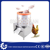 Simple and Portable Chicken Plucker Machine for Poultry Processing Equipment