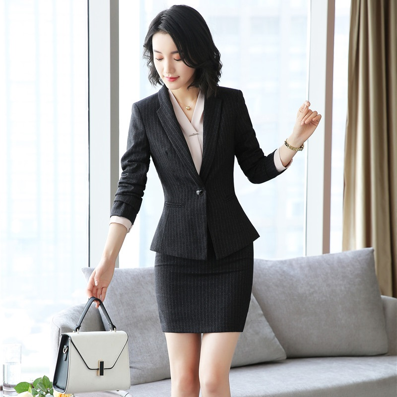 475b44006e 2018 autumn new women tweed ruffles blazers coat + skirt milu