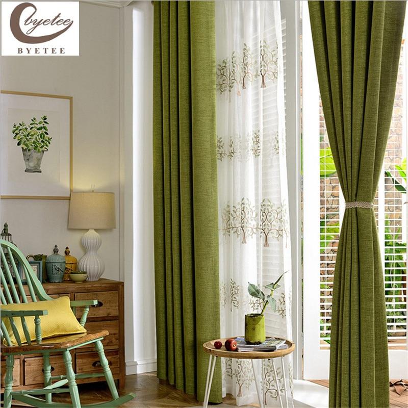 Curtains Green