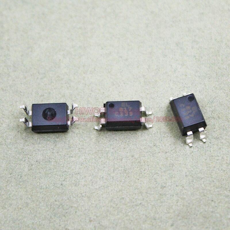 10PCS SMD EL817S-C PC817C Optocoupler SOP-4 IC