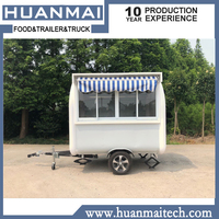 Mobile Catering Food Trailer Food Truck Food Cart Sales Trailer 2300x1850x2300mm