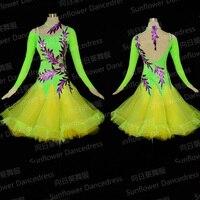 2016 NEW Competition Fringe Latin Dance Dress Salsa Dress Ballroom Dress Rumba Jive Chacha Ballroom Latin