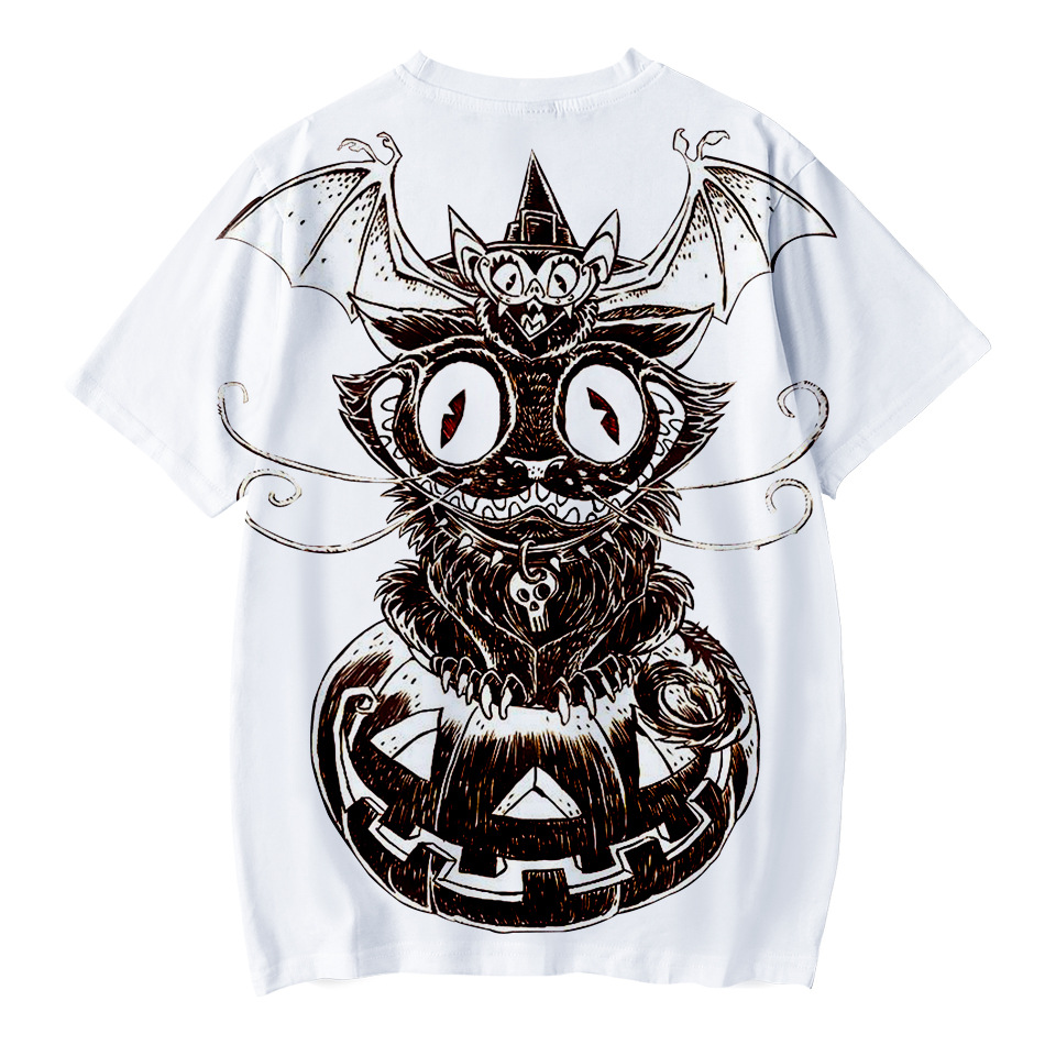 b3539a19 Boy T-shirt kids clothes Halloween party costume 3D digital printing T-shirt  short-sleeved children's clothing top clothing new | Mikes Wholesale Mart