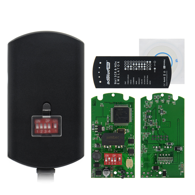 Emulation Adblue 8 in 1 8in1 update to Adblue 9 in 1 Universal NOT NEED ANY SOFTWARE Emulation Box for multi-brands trucks