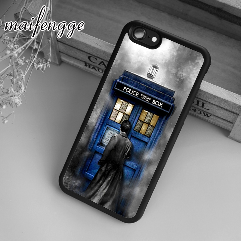 Fitted Cases Phone Bags & Cases Rational Maifengge Tardis Doctor Dr Who Police Box Case For Iphone 6 6s 7 8 Plus X 5 5s Se Case Cover For Samsung S5 S6 S7 Edge S8 Plus Shrink-Proof