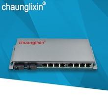 Gigabit POE switch 1000M  8port 2optical fiber port  A and B single mode optical poe 48V af/at power supply 1000M